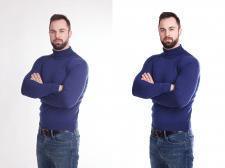 Ретуш (одежда для интернет-магазина)