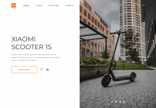 Online store of scooter
