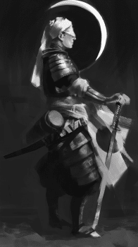 Samurai sketch