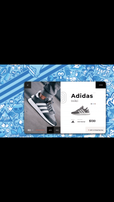 Adidas ⎮Single Product Shopping⎮BM Design