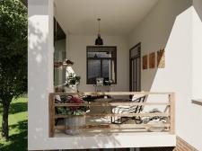 Eclectic loft. Balkon