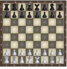 Дизайн шахмат для сайта