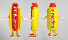 Корпоративный герой (3D модель, ростовая кукла)