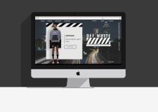 Концепт дизайна магазина одежды