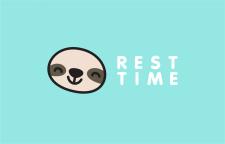 """Логотип """"Rest time"""""""