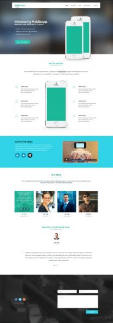 Сайт под мобильное предложение