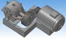 Проектирование привода подъемного механизма
