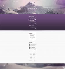 Шаблон мобильной версии сайта
