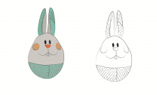 Logo Rabbit illustration