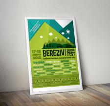 """Дизайн афіші для """"Bereziv Bander Fest"""""""