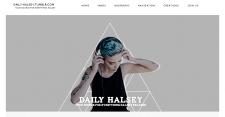 Баннер для фан-сайта Daily Halsey