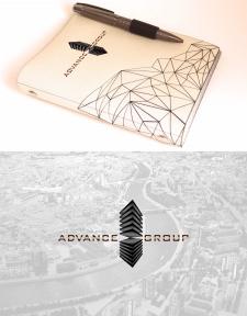 "Логотип ""Advance Group"""