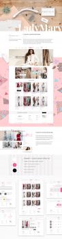 Интернет магазин женской одежды 'Lady Mary'