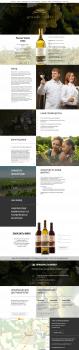 Создание и поддержка сайта винодельной компании