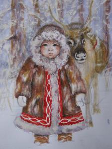 Зима ))
