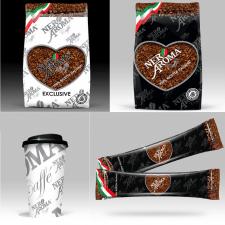 Дизайн упаковки для кофейной франшизы