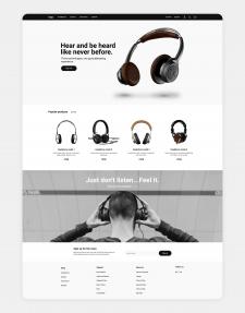 headphones e-commerce