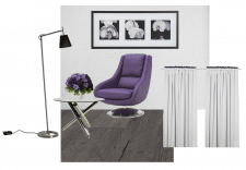 Концепт дизайна гостиной