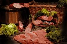 Рекламная съёмка для колбасного комбината