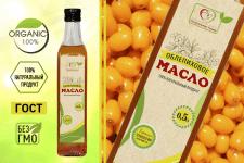 этикетка на растительное масло