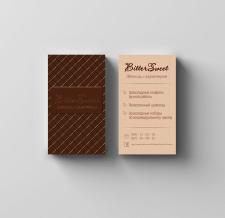 Дизайн визитки для шоколадной мастерской