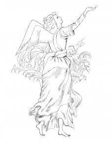 ангел с птицей 2