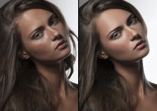 Ретушь beauty портрета