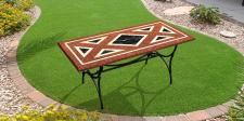 Моделирование, и совмещение с фото садового стола