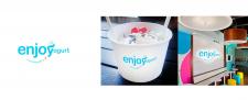 Разработка лого для сети ENJOYogurt