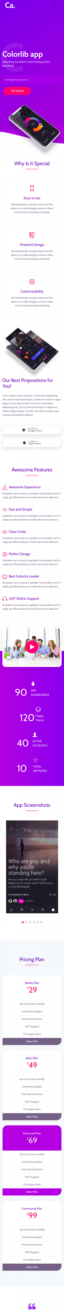 Colorlib app