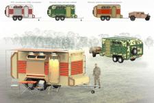 военный трейлер