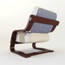 """Модель мягкого кресла """"Флаер"""""""