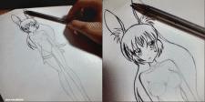 Рисунки персонажей на скорую руку