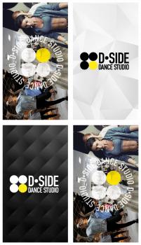 серия визиток для танцевальной студии stor_1