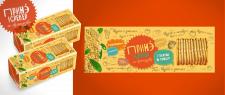 Дизайн упаковки печенья (крекер)