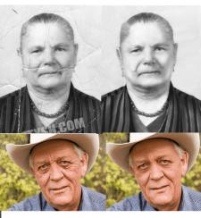 Восстановление и ретушь фотографий