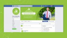 Оформлення facebook Green Marketing