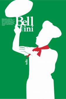 плакат для итальянского ресторана