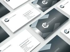Визитка и презентация логотипа