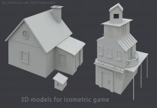 3D models for isometric game