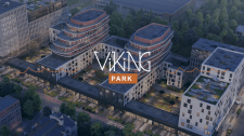 Промо видео для жилого комплекса VIKING park