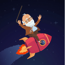 Дед в космосе