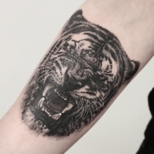 Тату тигр tattoo tiger
