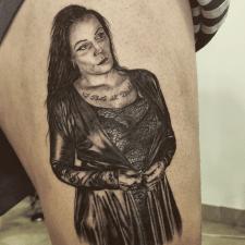 Tattoo woman тату женщина жінка