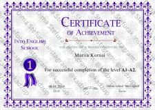Разраб. шаблона и плагина-генератора сертификатов