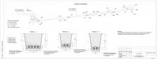 Тепловая сеть-схема+поперечные сечения