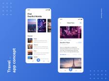 Travel App – Сервис по поиску экскурсий