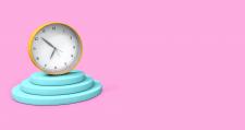Часы рендер