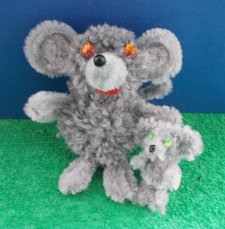 Мышь с мышонком