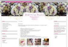 Сайт студии свадебной флористики. Редизайн.